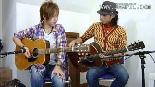 eBay USA にて出品中の当該ギターを、岡林 (岡寿恵弘氏, 林幸司氏) に試...