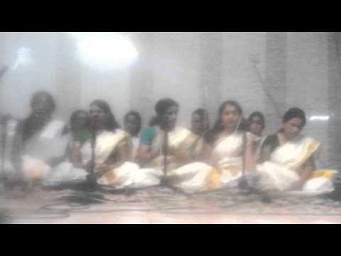 Bhajan Mrs. Sabitha Dinesh Nair 2015...