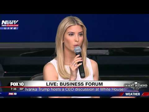 FULL: President Trump, Ivanka Trump and VP Mike Pence Business Climate (FNN)