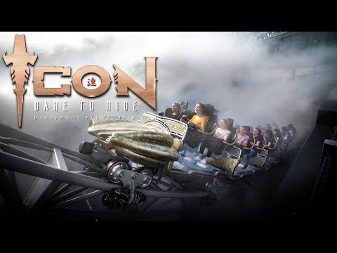 ICON The Ride | 2nd Day of VIP Riders | More Reviews! | Blackpool Pleasure Beach 2018