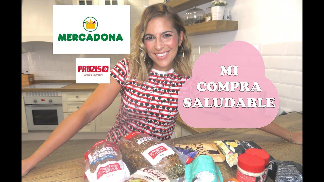MI COMPRA SALUDABLE EN MERCADONA Y PROZIS.COM