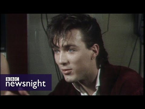 Newsnight archives (1981) - Spandau Ballet