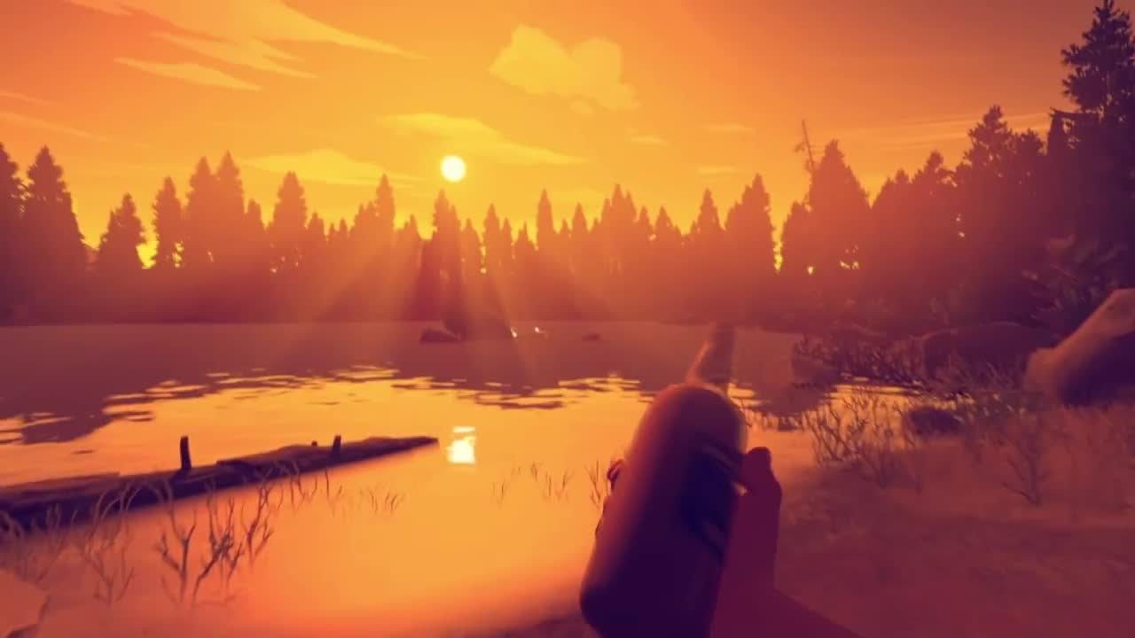 Firewatch - Gameplay-Trailer von der E3 2015 - YouTube