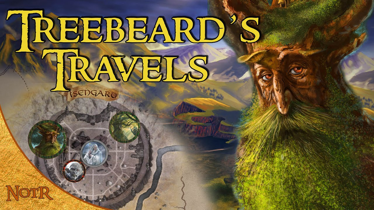 The Complete Travels of Treebeard   Tolkien Explained
