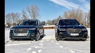 BMW X5 M50d vs Audi SQ7