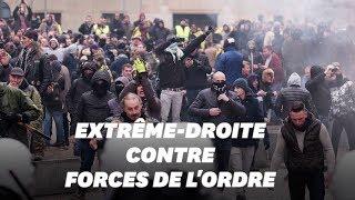 Des opposants au pacte de Marrakech affrontent la police à Bruxelles
