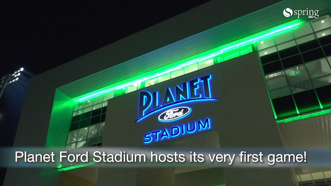 Planet Ford Spring >> Football At Planet Ford Stadium