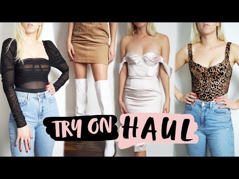 HAUL TRY-ON MARZO | Guess, Primark, Amazon, New Look...♥ Azul Místico