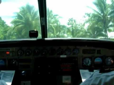 Cessna 208 Caravan engine start checklist & startup - SANSA Costa Rica