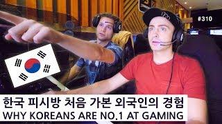 한국 피시방 처음 가본 외국인의 경험 ㅋㅋ (310/365) WHY KOREANS ARE NO.1 AT GAMING