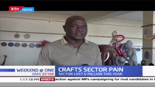 Soapstone industry in Kisii is sinking in losses brought about by the effect of COVID-19