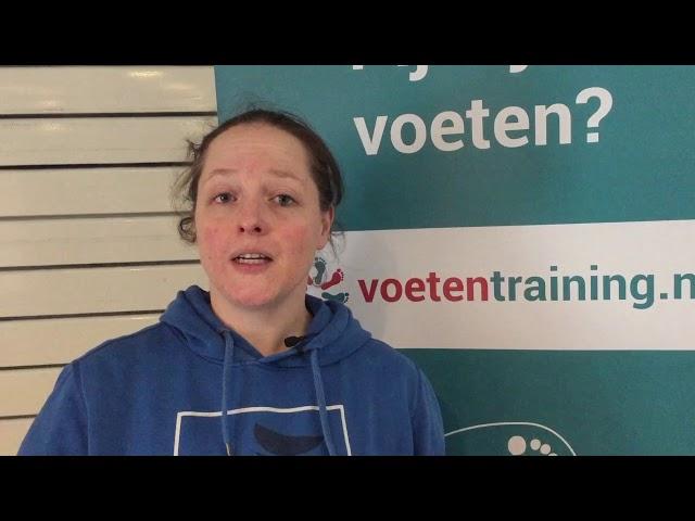 review kort voor opleiding voetentraining