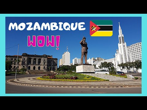 MAPUTO, the fascinating CAPITAL of MOZAMBIQUE, what to see/top attractions (AFRICA)