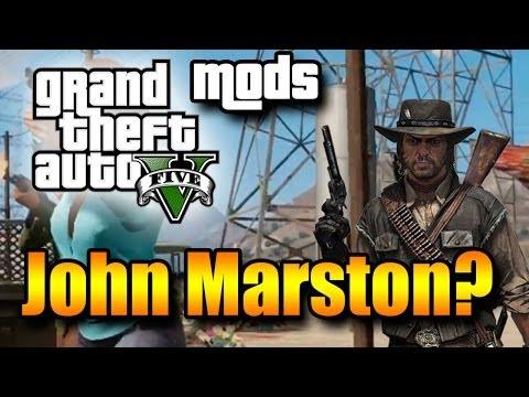 GTA V com o John Marston? Mod que te faz jogar GTA com o protagonista do jogo Red Dead Redemption!