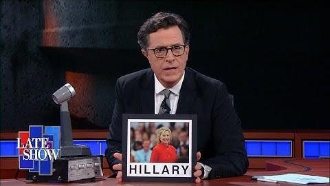Stephen Colbert's Tinfoil Hat