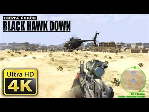 Old Games in 4K : Delta Force Black Hawk Down