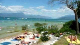 Sirmione, Garda Lake, Italy. July 2010
