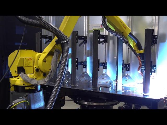 Ständer Roboterschweissen