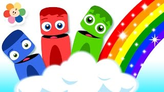 Learn Colors with Color Crew | Learn Rainbow Colors | Colors For Kids | BabyFirst TV