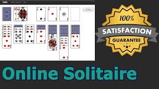 Free Online Solitaire Card Game By TechiStorm