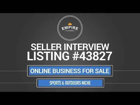 Online Business For Sale – $3K/month in the Sports & Outdoors Niche