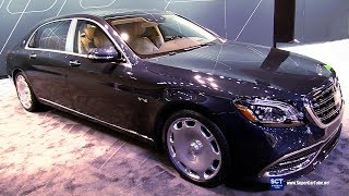 2018 Mercedes Maybach S Class S650 - Exterior and Interior Walkaround - 2018 Chicago Auto Show