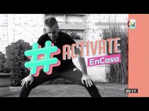 #ActivateEnCasa | Clases de gimnasia | 5/10/2020