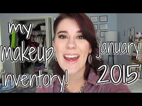 My Makeup & Beauty Product Inventory [+ Downloadable Spreadsheet!]