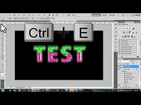 Tutorial สอนทำ Text สวยๆ Photoshop Cs5 #3