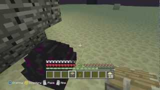How to Pick Up The Ender Dragon Egg Minecraft Xbox One