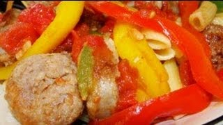 Italian Sausage & Peppers Supper