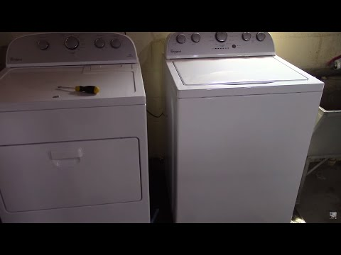 Whirlpool Washer Dryer Set Wtw5000dw Wed5000dw Review