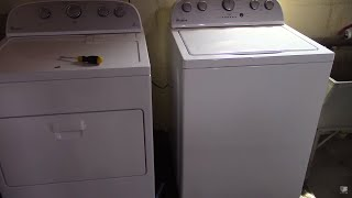 Whirlpool Washer, Dryer Set WTW5000DW / WED5000DW Review