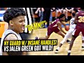 Jalen Green Faces SHIFTY New York Point Guard w/ INSANE HANLDES Posh Alexander!! TEAMS GET TESTED!!