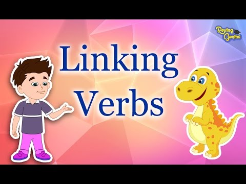 What Are Linking Verbs?   English Grammar For Kids with Elvis   #9