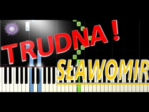 🎹 Miłość w Zakopanem (Sławomir) - Piano Tutorial (TRUDNA! wersja) 🎹