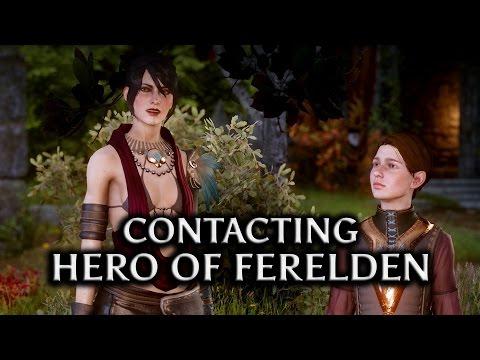 Dragon Age: Inquisition - Contacting the Hero of Ferelden (Morrigan Romance)