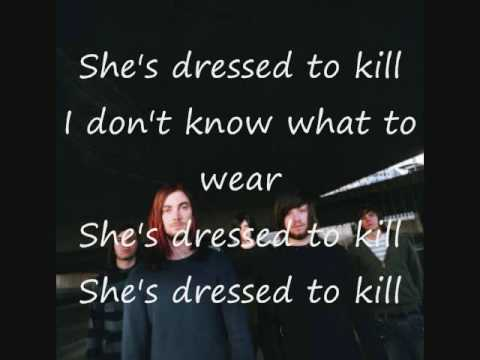 dressed for friend requests. drop dead, gorgeous. (lyrics)