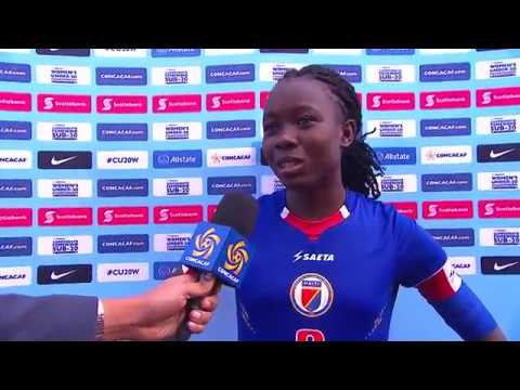 CU20W 2018: Haiti vs Canada Interviews