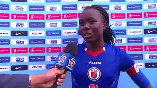 CU20W 2018: Haiti vs Canada Interviews