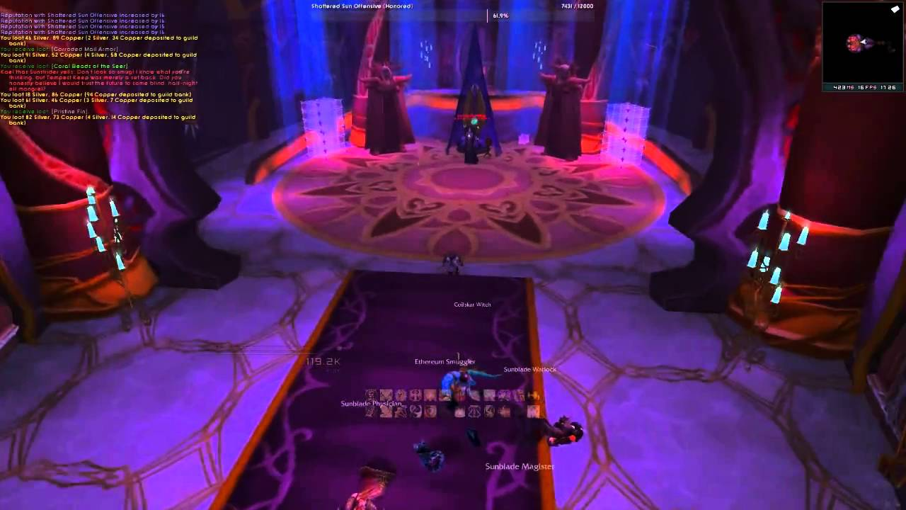 World Of Warcraft Cataclysm Solo Heroic Magister S Terrace Mount