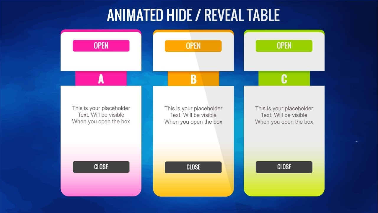 Animated PowerPoint Infographic Slide Design tutorial ...