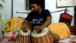 CHOKHER JOLER HOY NA KONO RONG....the song of Kishor Kumar(Tabala Cover)