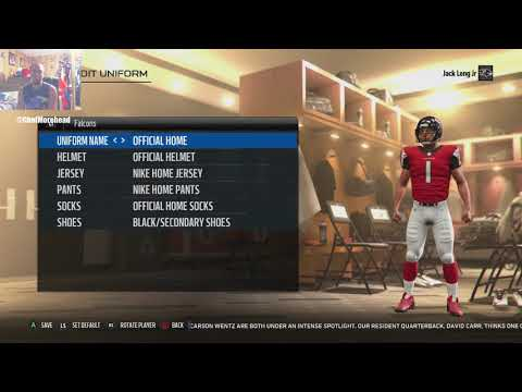 Madden NFL 18 All teams Uniforms