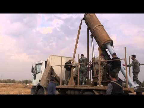 Syrian National Defence Force Launching UMLACAs Near The Tameco Complex