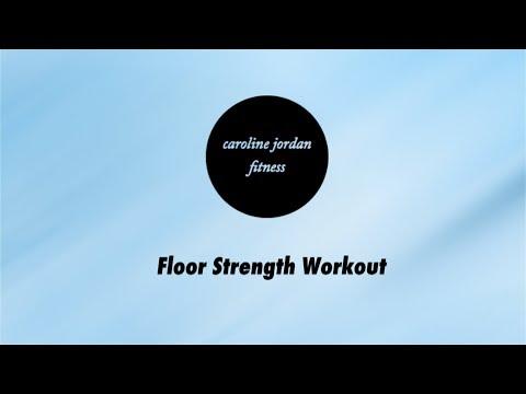 DOWNLOADABLE Floor Strength WORKOUT VIDEO