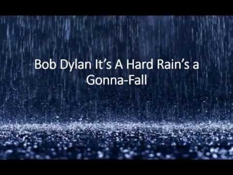 "Bob Dylan ""A Hard Rains A Gonna-Fall"" (lyric Video)"