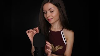 ASMR 💤 Mic Touching & Close-Up Whispers for Sleep 💤