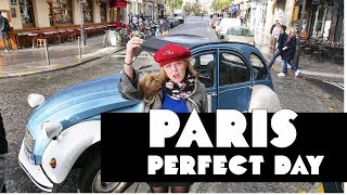 Paris | Vintage Car Ride + Cocktails in Montmartre