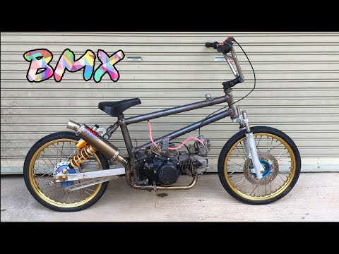 BMX Honda Wave 125 motorized bicycle